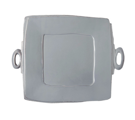 Lastra Square Handled Serving Platter - Color Scheme Monday - Tool Belt - Pezzo Bello Interiors
