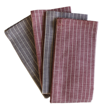 Nutmeg Napkins Set of 4 - Color Scheme Monday - Tool Belt - Pezzo Bello Interiors