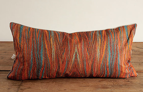 Zig Zag Watermark Pillow - Color Scheme Monday - Pezzo Bello Interiors