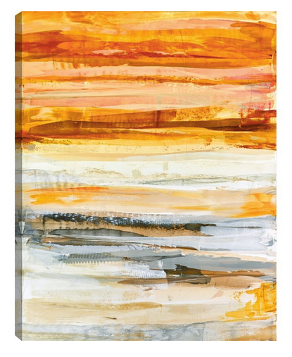 Sun Dream Giclee Canvas Wrap - Color Scheme Monday - Fresh Picked