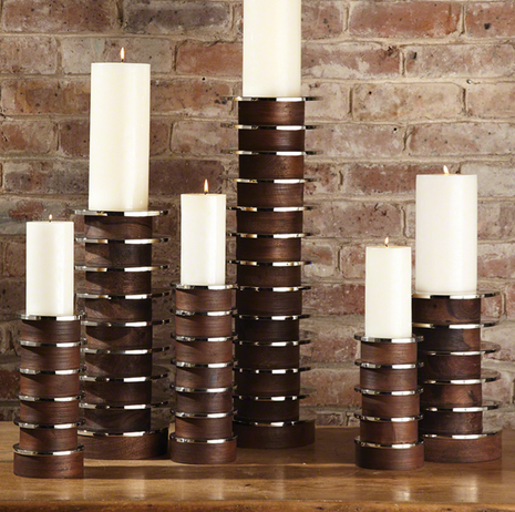 Stacked Plate Candleholder - Color Scheme Monday - Fresh Picked