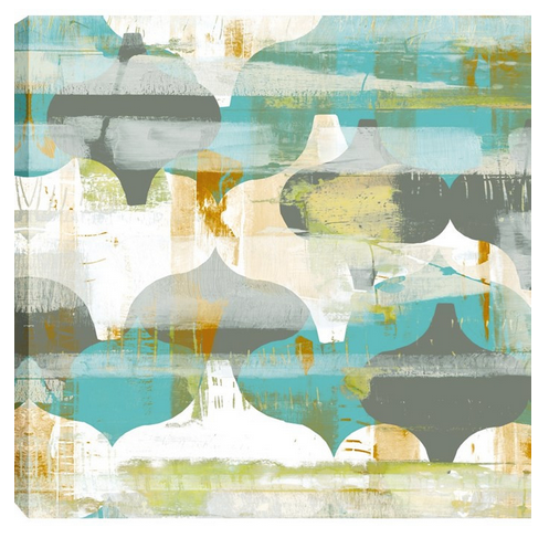 Arabesque Abstract II Wall Art - Color Scheme Monday - Pezzo Bello Interiors