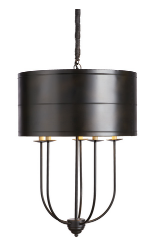 Dover Chandelier - Color Scheme Monday - Home of the Free Because of the Brave - Pezzo Bello Interiors
