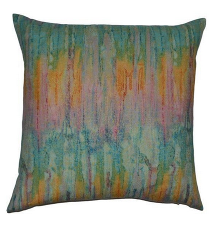 Igneous Feather Down Pillow - Color Scheme Monday - Hummingbird - Pezzo Bello Interiors