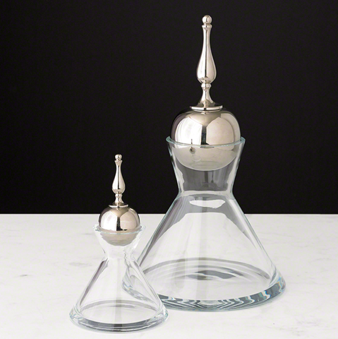 Finial Decanter - Color Scheme Monday - Vintage View Master - Pezzo Bello Interiors