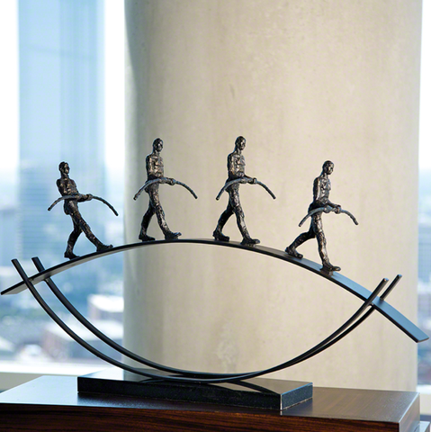 Global Views Balance Sculpture - Pezzo Bello Interiors