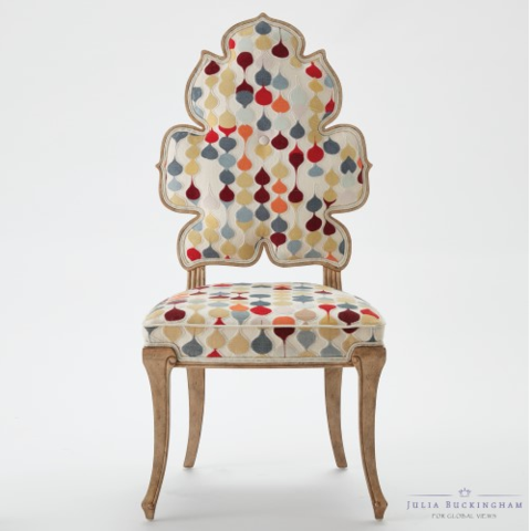 Wiggle Dining Chair - Raindrop - Color Scheme Monday - A Bushel and A Peck - Pezzo Bello Interiors