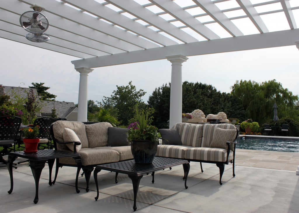 outdoor couch seating