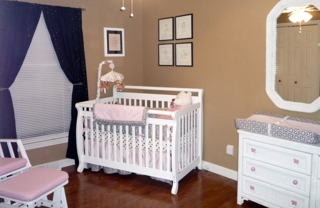 Girl Nursery - Pezzo Bello Interiors - Kansas City