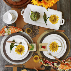 Lastra Sunflower Dinnerware Collection
