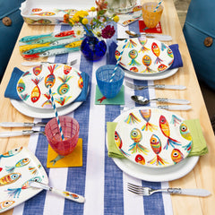 Pesci Colorati Dinnerware Collection
