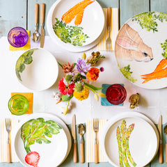 Spring Vegetables Dinnerware Collection