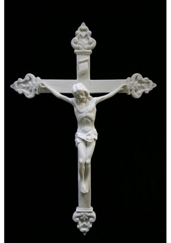 Italian Marble Contemporary Crucifix
