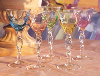 Adrianna Wine Glass , Overstock/Clearance - Abigails, Pezzo Bello