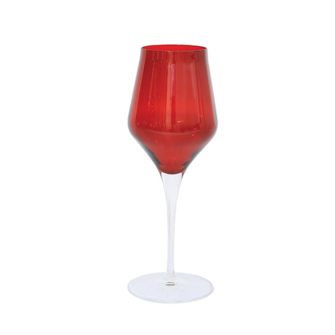 Contessa Wine Glass - Sets of 4 - Red