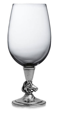 Cavallo Pewter  Glass