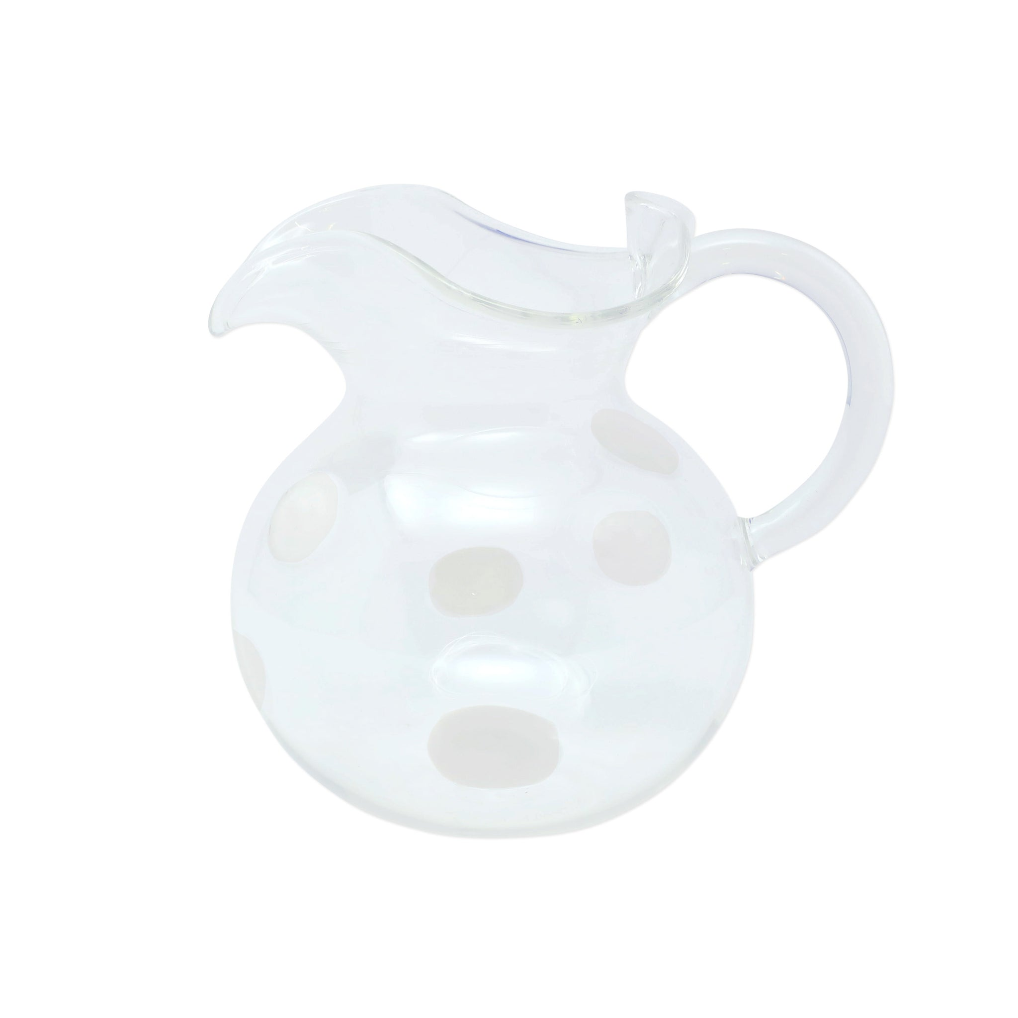 Drop Three Spout Pitcher - White