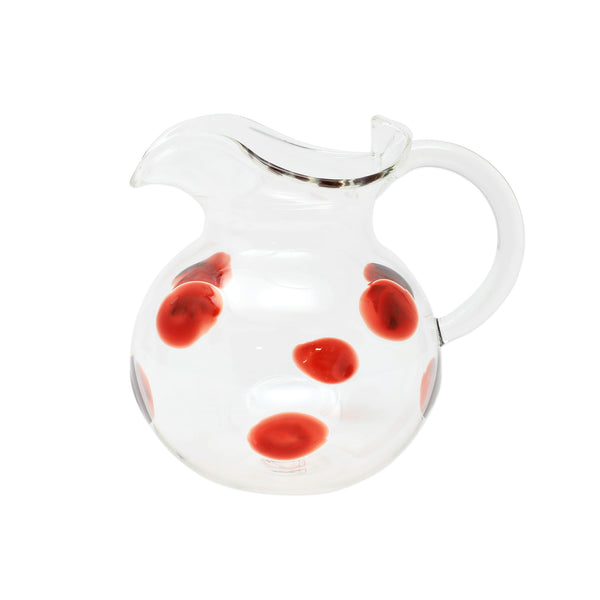 Drop Three Spout Pitcher - Red