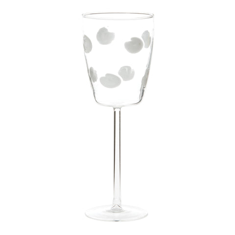 Drop Wine Glass - Set of 4 - White
