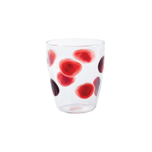 Drop Short Tumbler - Set of 4 - Red