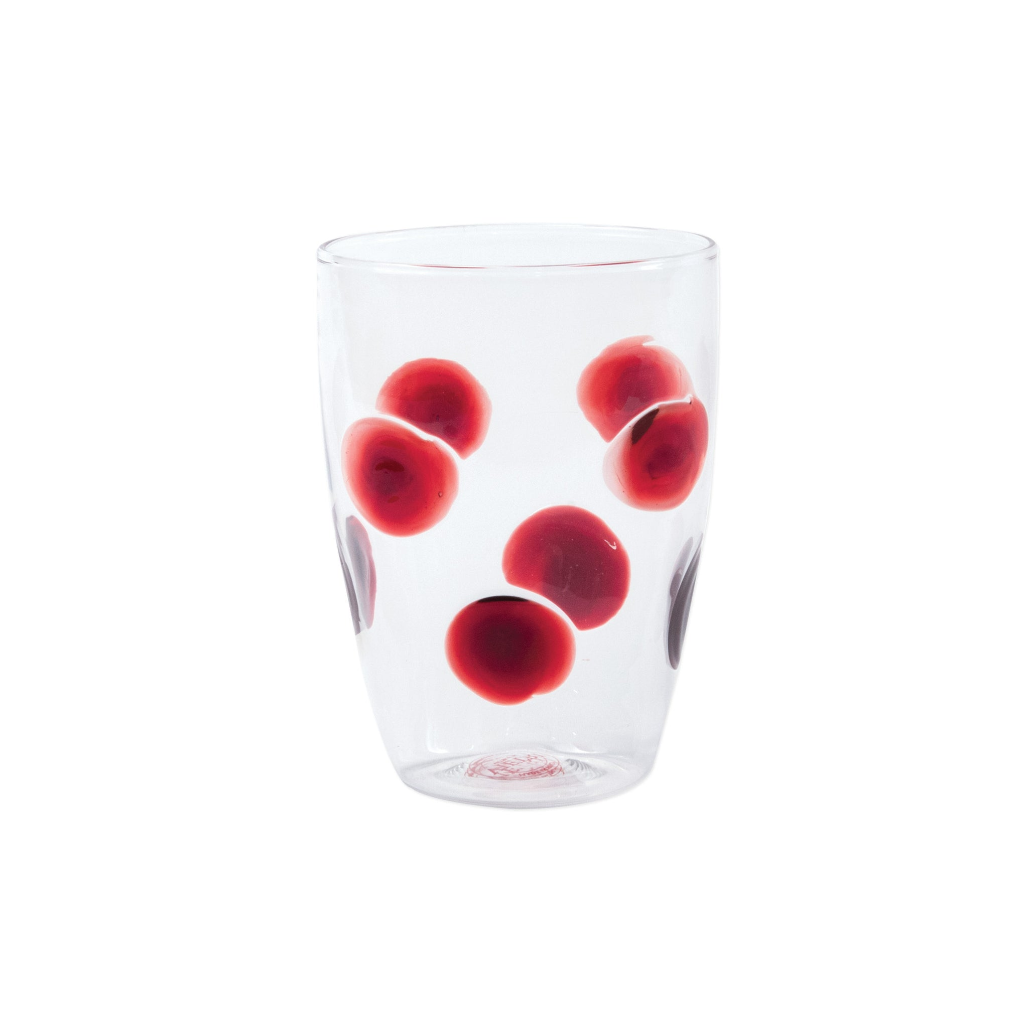 Drop Tall Tumbler - Set of 4 - Red