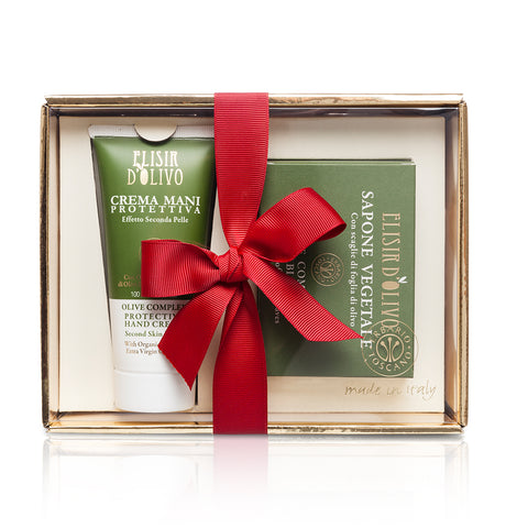 Olive Complex Hand Cream and Soap Gift Set - Erbario Toscana