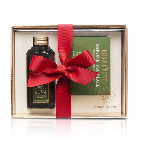 Erbario Toscano Olive Complex Shower Bath and Soap Gift Set