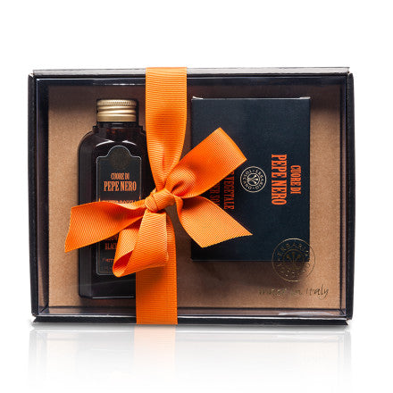 Black Pepper Shower Gel and Soap Gift Set - Erbario Toscana
