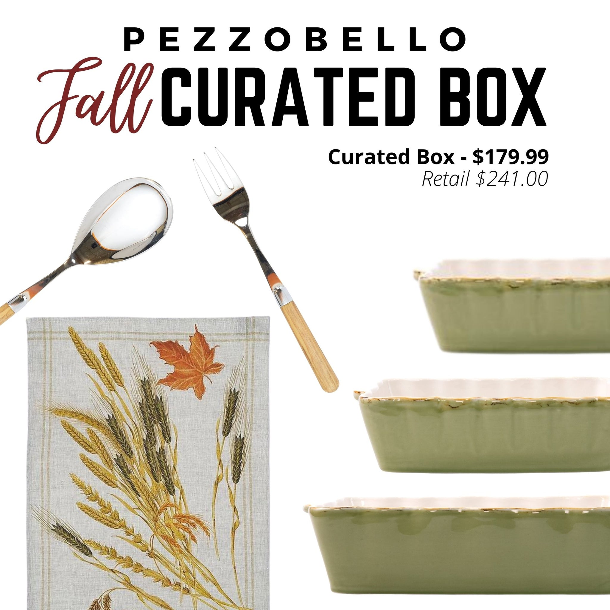 Fall Curated Box - Baker Set