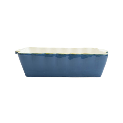 Italian Bakers Medium Rectangular Baker - Blue