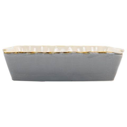 Italian Bakers Large Rectangular Baker - Gray