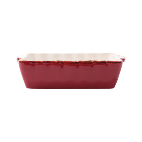 Italian Bakers Small Rectangular Baker - Red