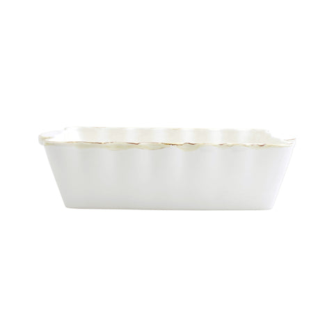 Italian Bakers Medium Rectangular Baker - White