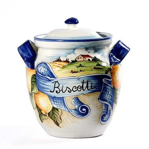 House Biscotti Jar