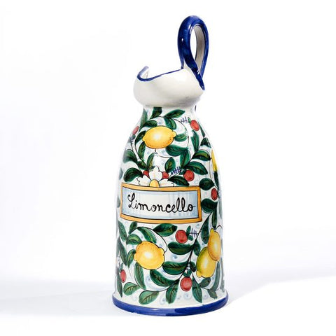 Majolica Decorato Limoncello Pitcher