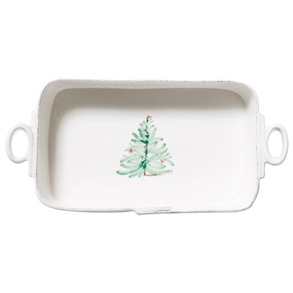 Lastra Holiday Rectangular Baker