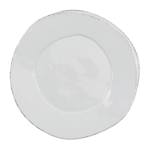 Lastra Dinner Plate - Set of 4 - Light Gray