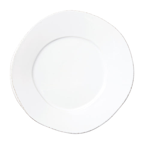 Lastra Dinner Plate - Set of 4 - White