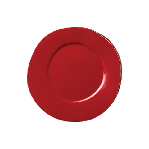 Lastra Salad Plate - Set of 4 - Red