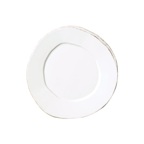 Lastra Salad Plate - Set of 4 - White
