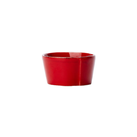 Lastra Serving Bowl - Condiment - Red