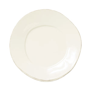 Lastra European Dinner Plate - Set of 4 - Linen
