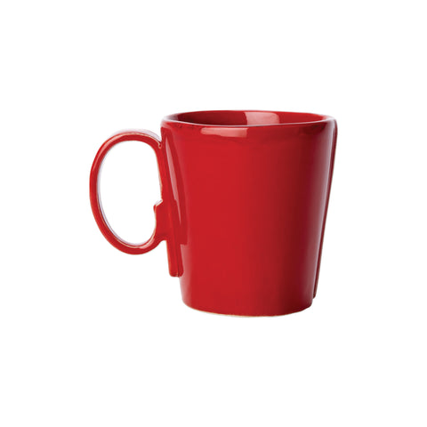 Lastra Mug - Set of 4 - Red
