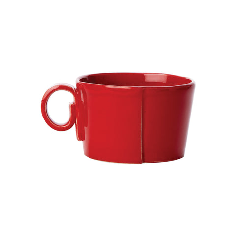 Lastra Jumbo Cup - Set of 4 - Red