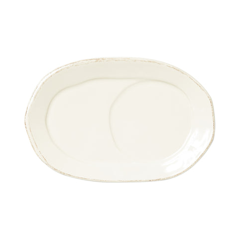 Lastra Oval Tray - Set of 4 - Linen
