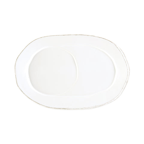 Lastra Oval Tray - Set of 4 - White