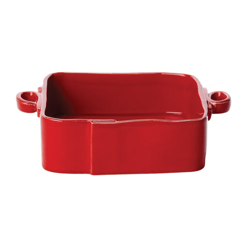 Lastra Square Baker - Red