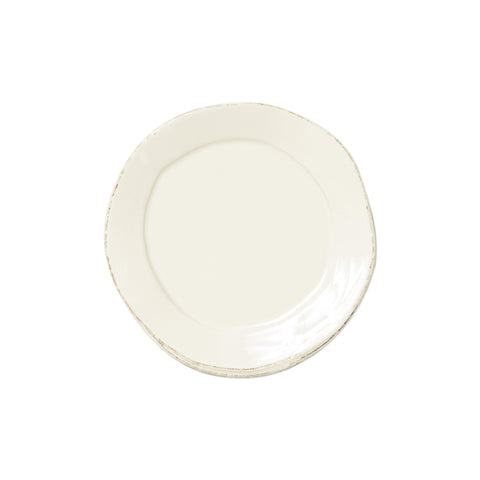 Lastra Canape Plate - Set of 4 - Linen
