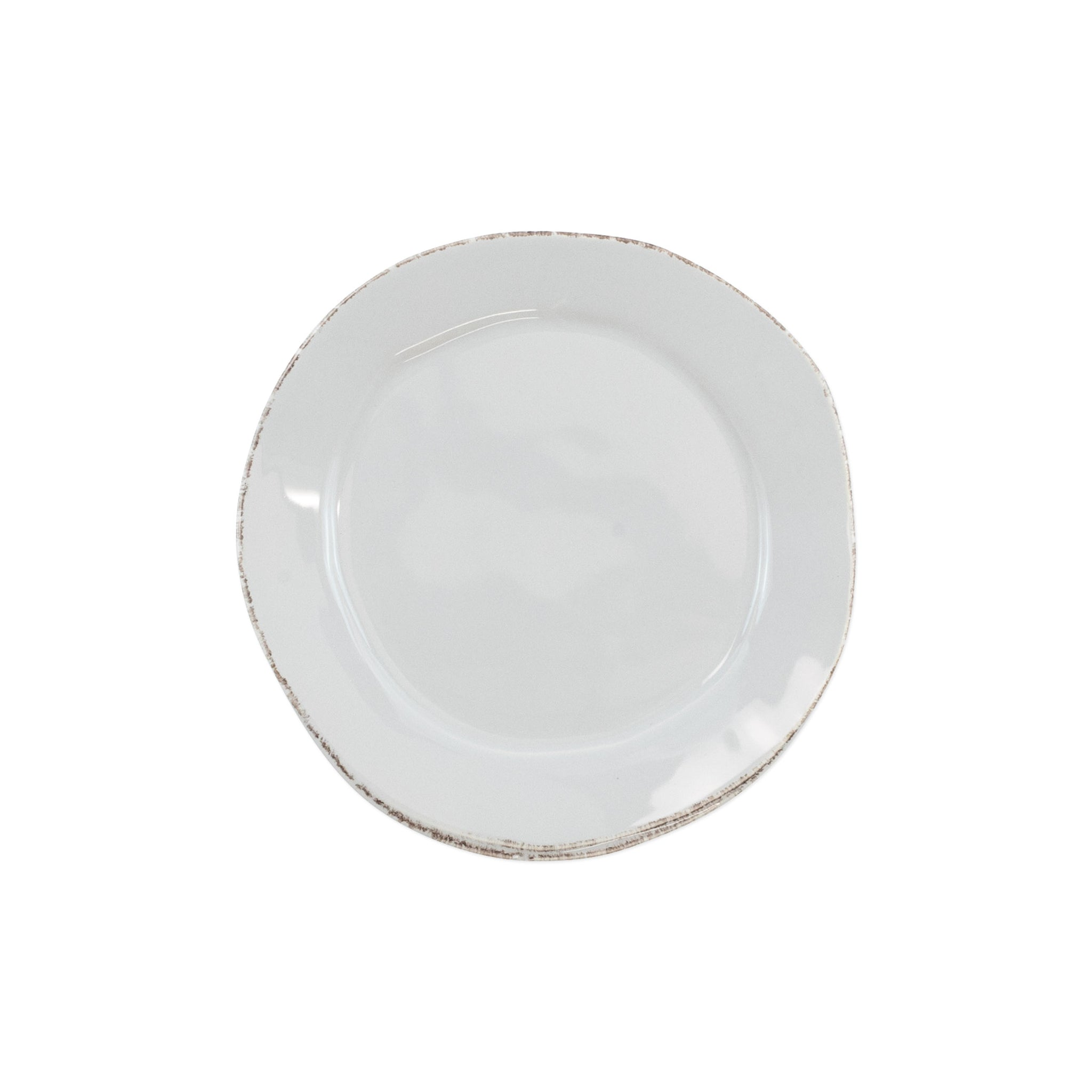 Lastra Canape Plate - Set of 4 - Light Gray