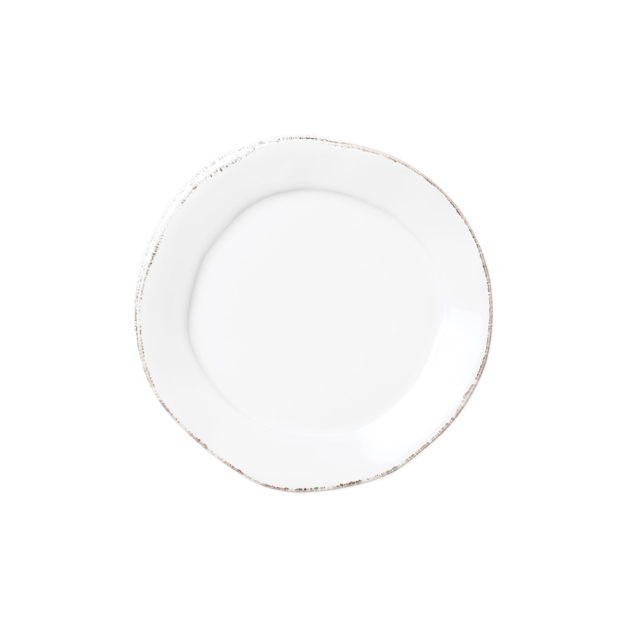 Lastra Canape Plate - Set of 4 - White